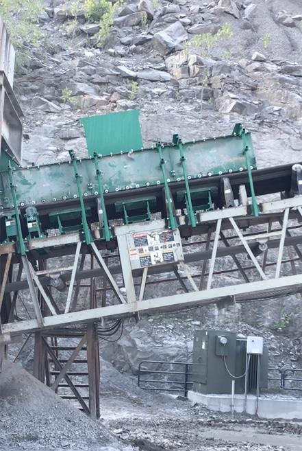 Richwood Conveyor Transfer Areas
