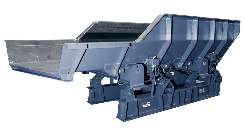Carrier Vibrating Equipment's Vibratory Feeders
