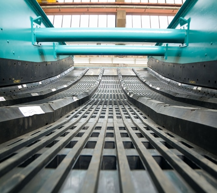 Schenck Process Produces Rubber Screen Panels