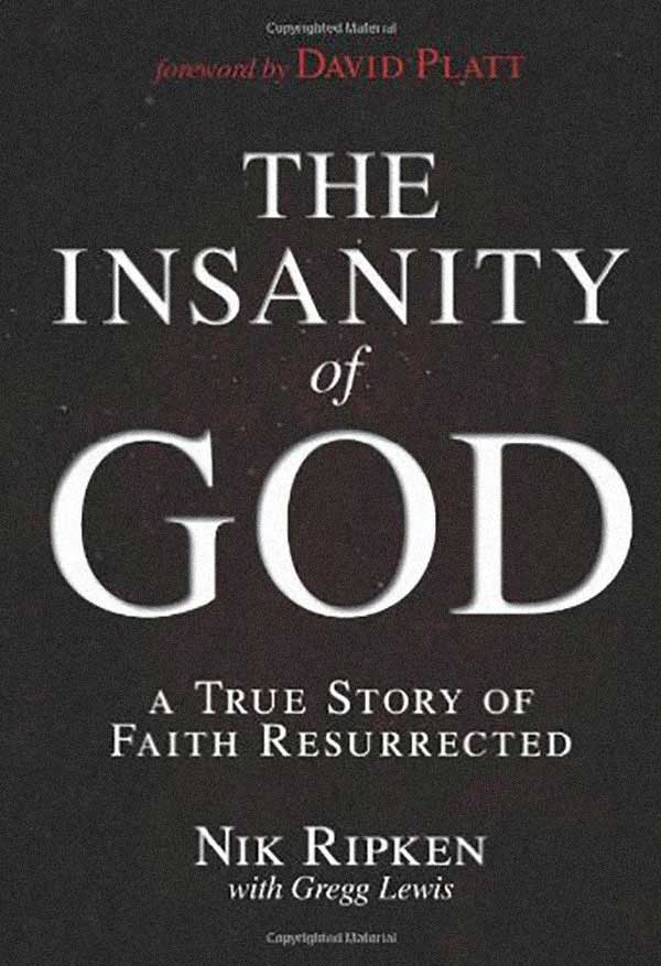 The Insanity of God is the personal and lifelong journey of an ordinary couple from rural Kentucky who thought they were going on just your ordinary missionary pilgrimage, but discovered it would be anything but.