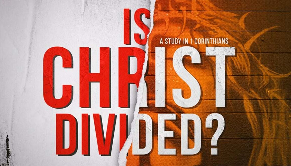 Is Christ Divided? title