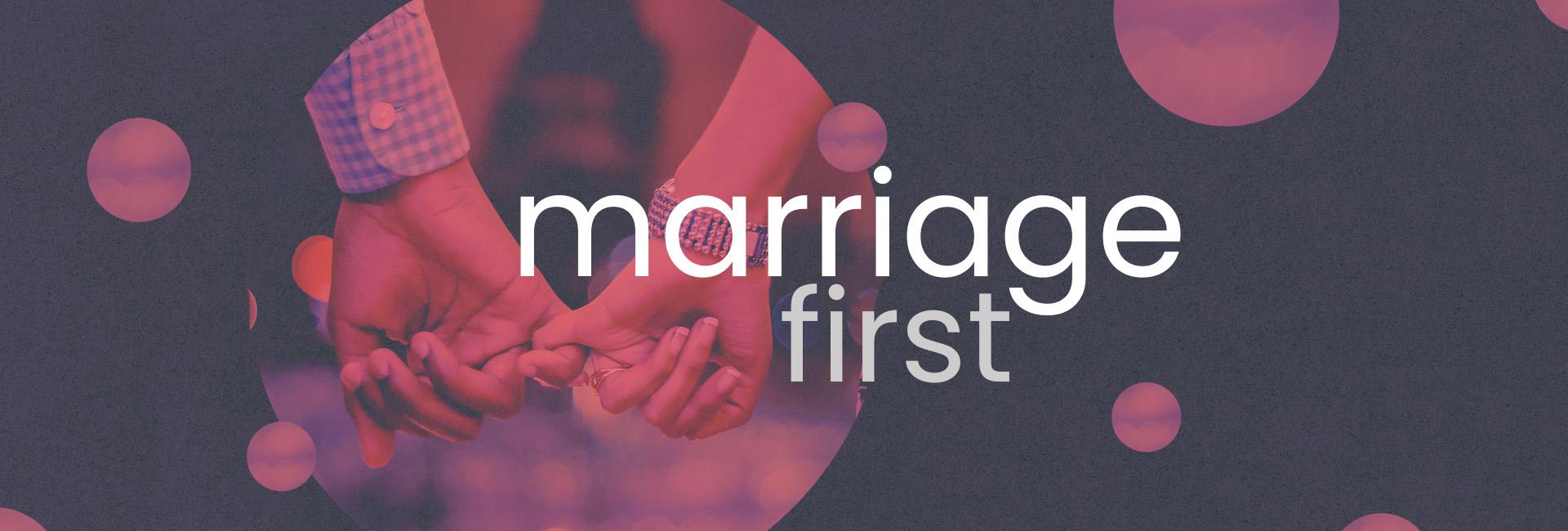 marriage first header
