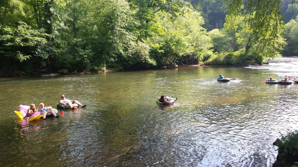 Tubing Two Rivers