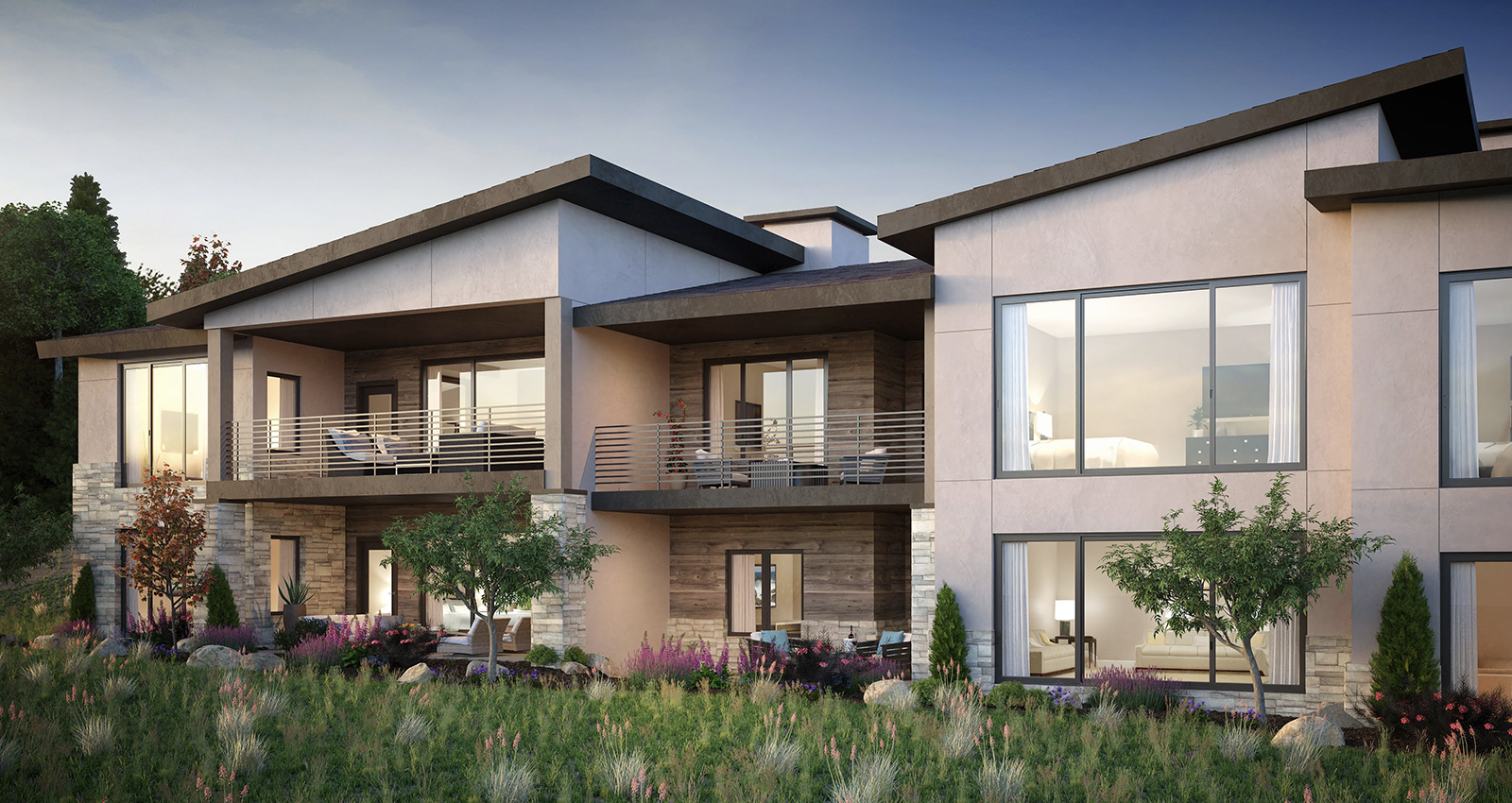 townhomes for sale with balcony