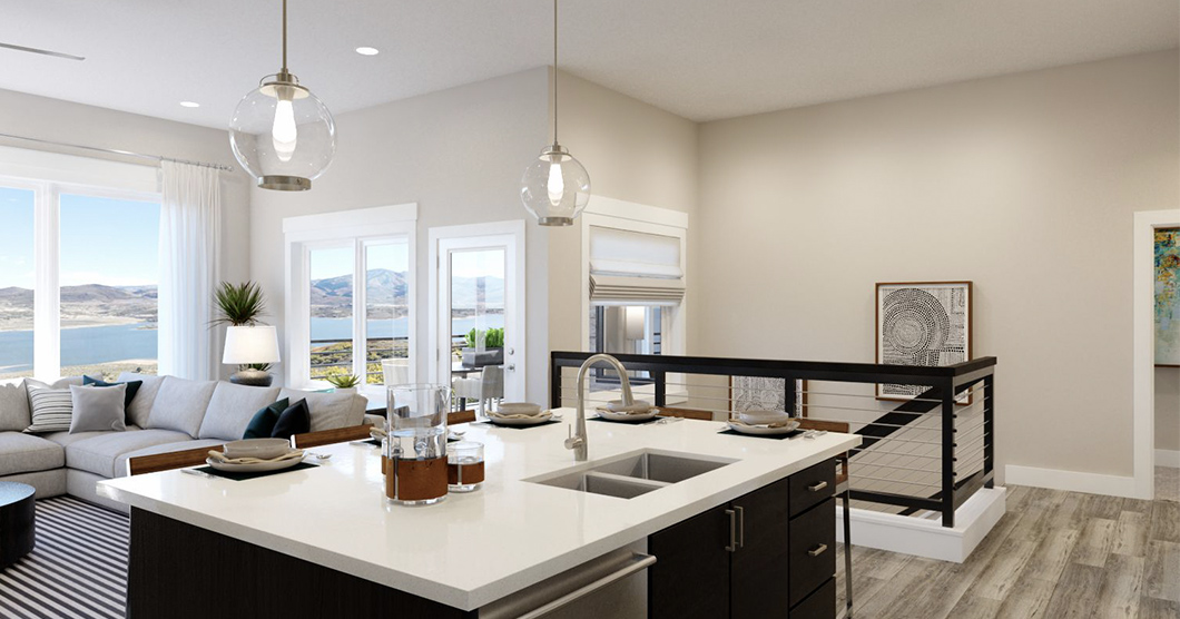 townhomes for sale near park city utah with open floorplan