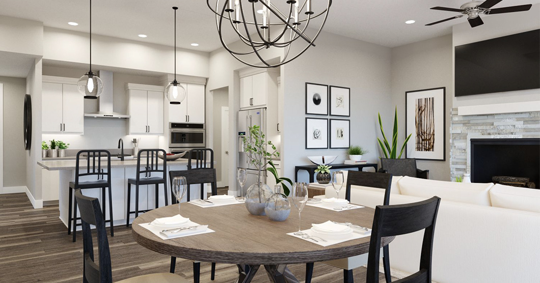 innovation homes with luxury open floor plan