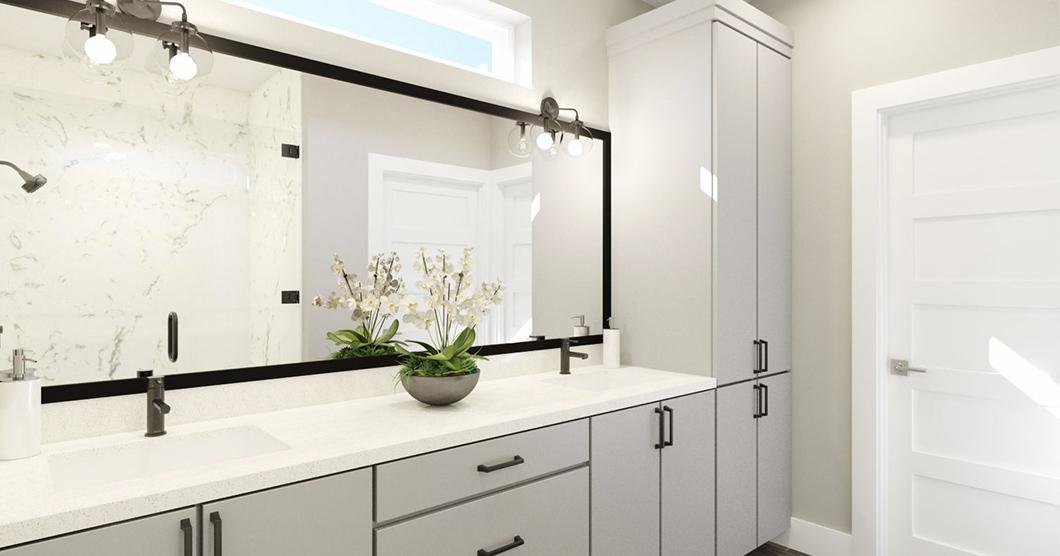 Luxury marble bathroom shower tub