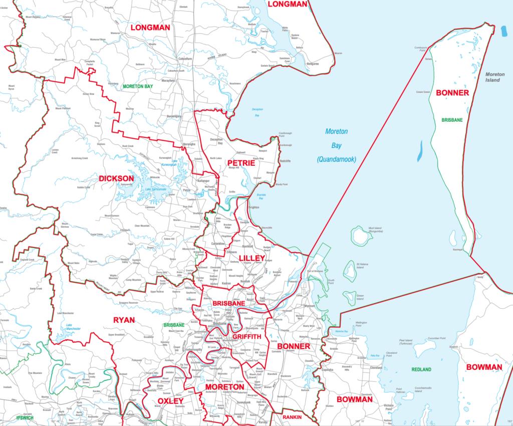 Electorate Map