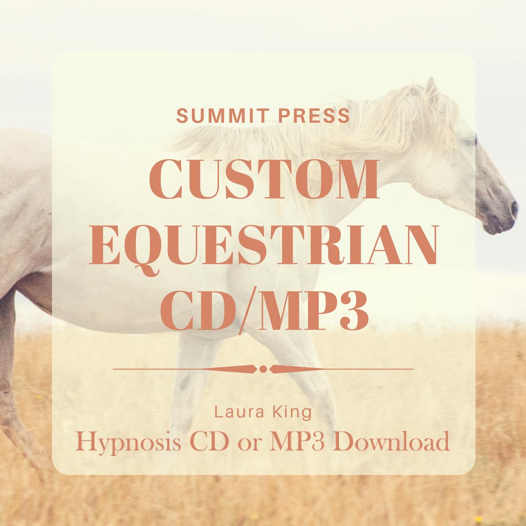 Custom Equestrian CD/MP3