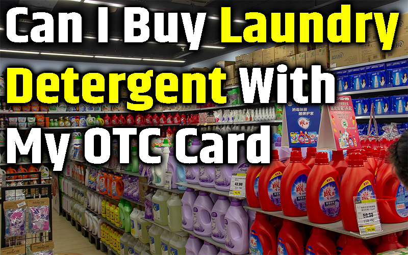 Can I Buy Laundry Detergent With My OTC Card
