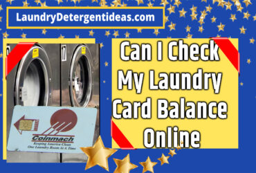 Can I Check My Laundry Card Balance Online