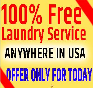 laundry SERVICE FREE OFFER