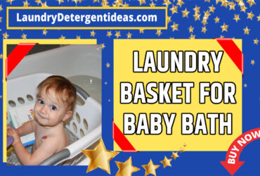 Laundry Basket for Baby Bath