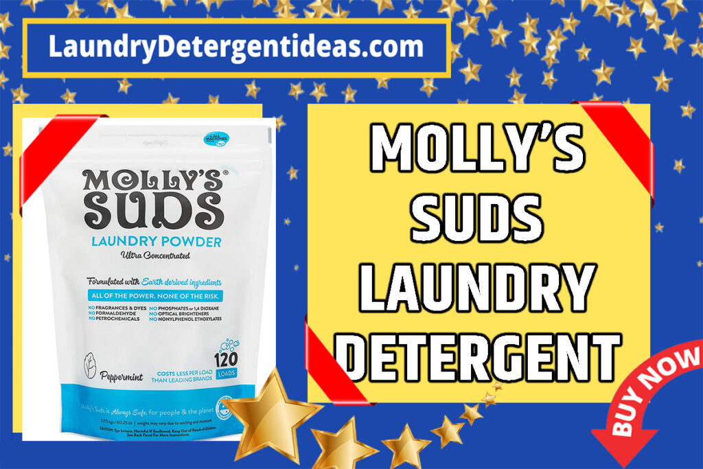 molly's suds powder laundry detergent