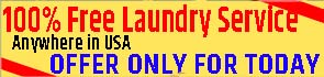laundry offer only for today