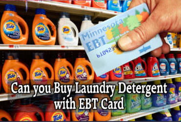 Can you Buy Laundry Detergent with EBT Card