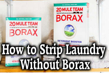 How to Strip Laundry Without Borax