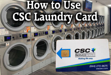 How to Use CSC Laundry Card
