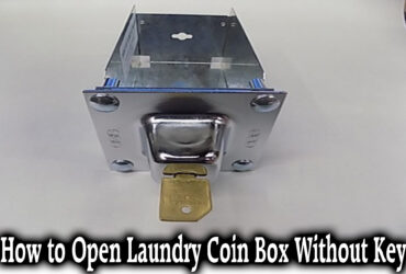 How to Open Laundry Coin Box Without Key