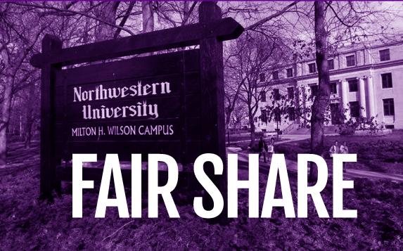 Negotiate NU Fair Share Contribution