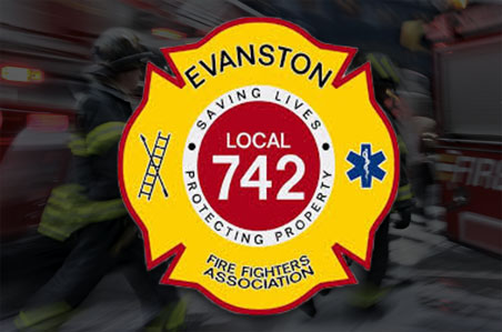 Clare Kelly receives endorsement of Evanston Firefighters Association, Local 742