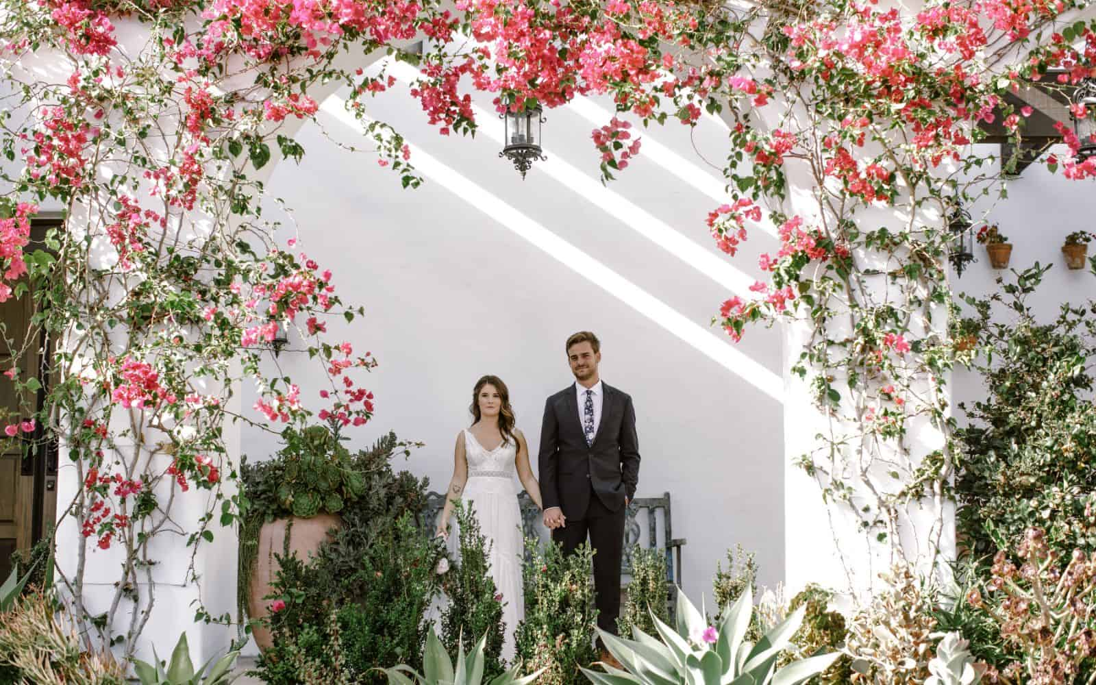 beautiful wedding southern california