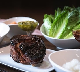Steak at La Ventura San Clemente Wedding Venue