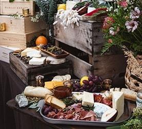 Cheese Board at La Ventura San Clemente Wedding Venue