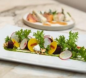 Salad at La Ventura San Clemente Wedding Venue