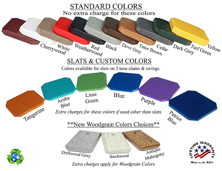 Outdoor Furniture Colors