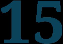 15 en chiffre