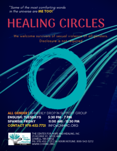 Healing Circles @ The Center for Hope and Healing, Inc.
