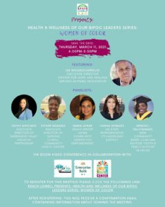 Health and Wellness of Our BIPOC Series: Women of Color @ Zoom