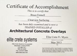 Certification Elite Crete