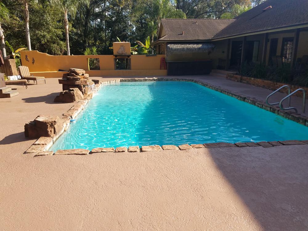 Pool Deck Redone Orlando