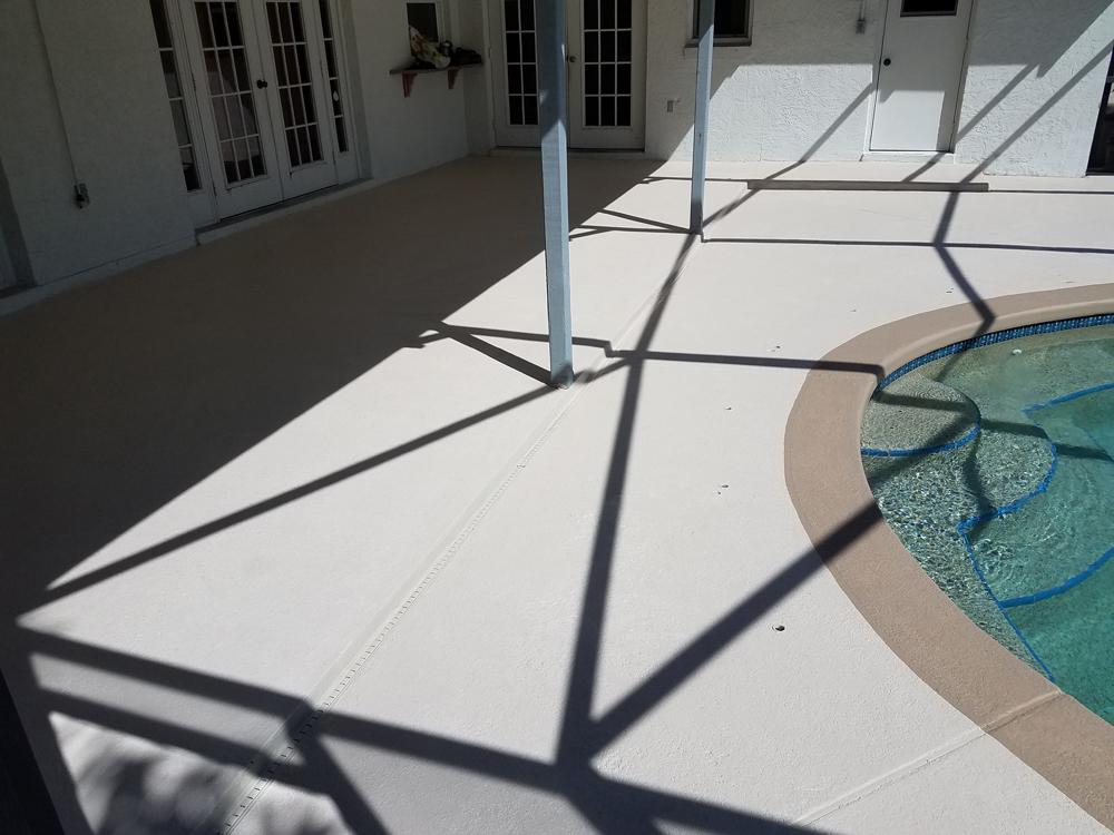 Pool Deck Painted Orlando