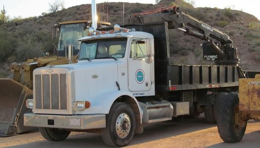 Boulder Crane Truck