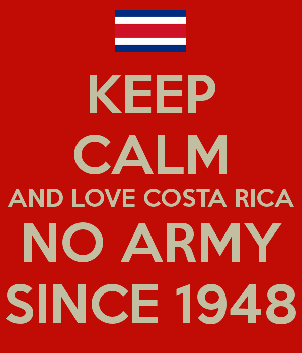 Costa Rica Celebrates 68 Years Without an Army