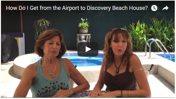 How Do I Get from the Airport to Discovery Beach House?
