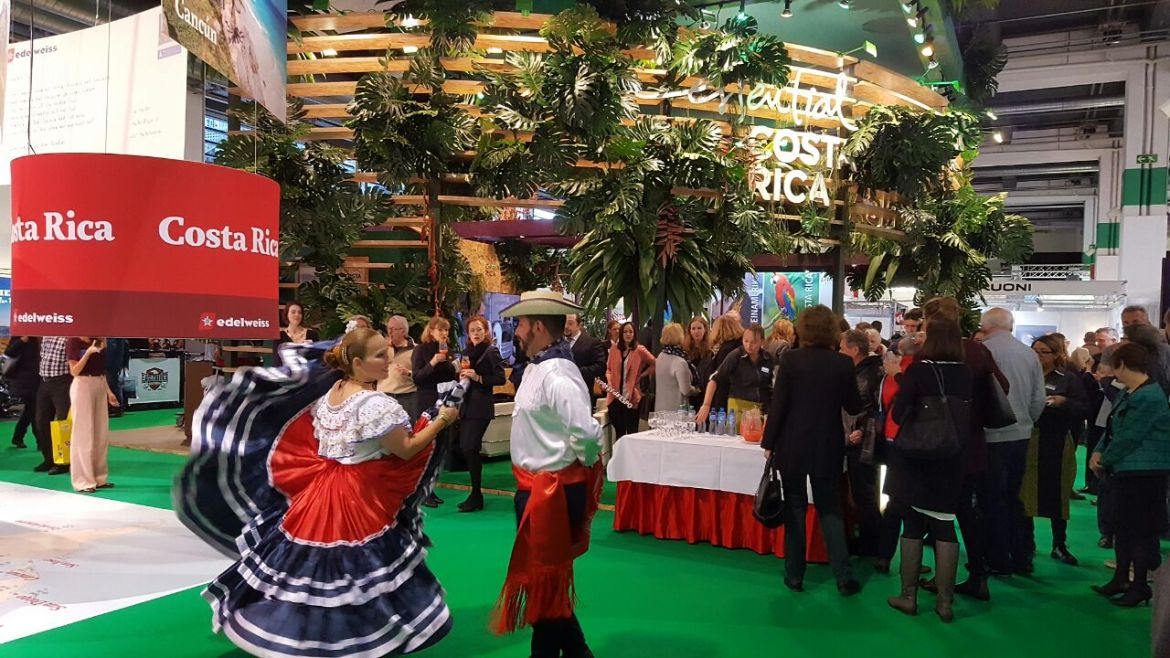 Costa Rica is participating for the first time in Switzerland's main touristic fair
