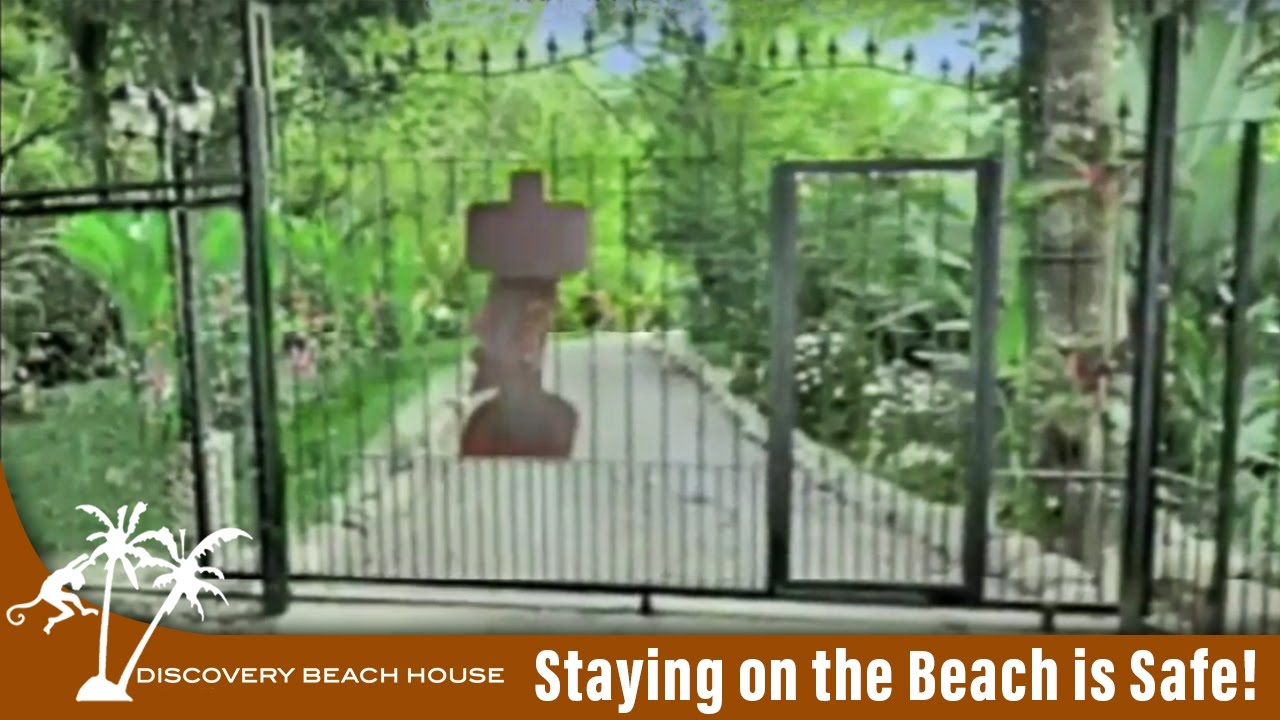 Staying on the Beach is Safe!