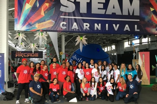 Event Staff at STEAM Carnival in San Francisco