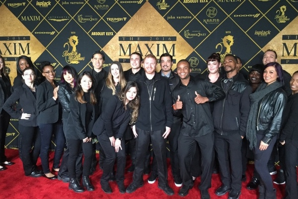 Event Staff at Maxim event for Super Bowl 50 in San Francisco