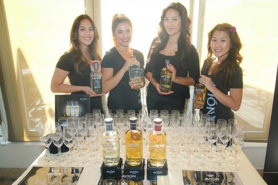 Spirit sampling - Avion Tequila
