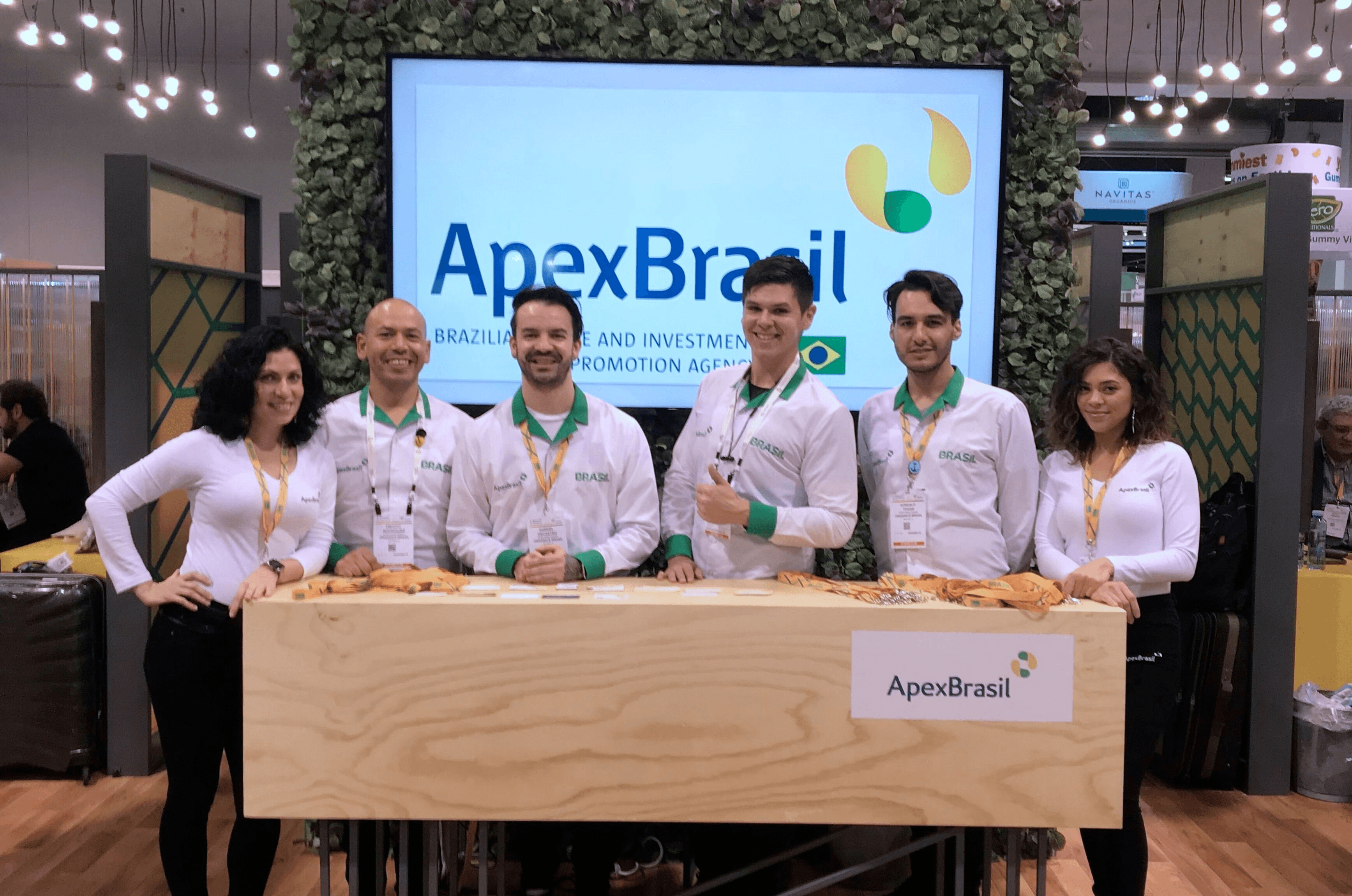 Apex Brazil at The Natural Products Expo in Los Angeles, CA