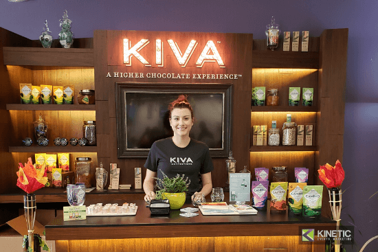 In-store Demos Kiva Confections