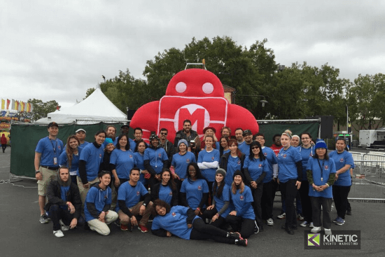 Kinetic Events- Event Staff at Maker Faire
