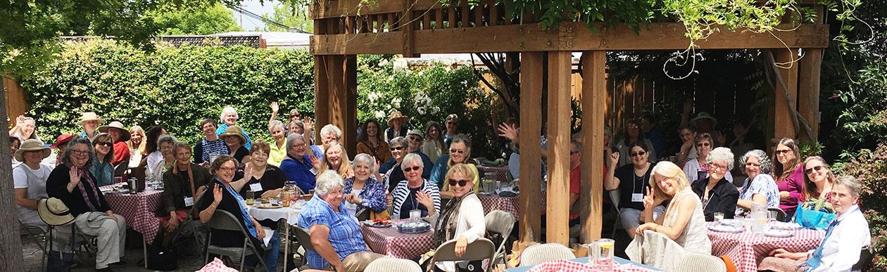 Guild members at the June 2017 picnic