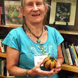 JoAnn Slissman - Felted Tomato!