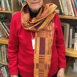 Julia's double-weave scarf